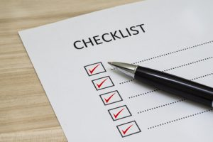 home buying checklist