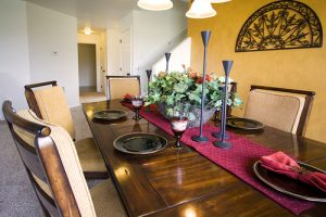 winter home staging